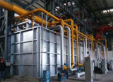 山东省伊莱特5台蓄热式锻造加热炉设