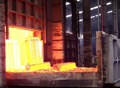 台车式锻造炉