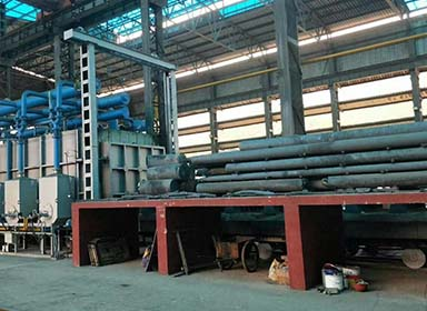 台车式钢管热处理炉
