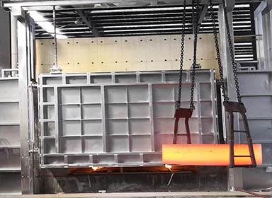 蓄热式锻造炉